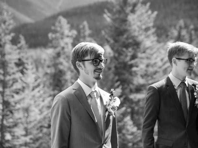 Brent and Emma's wedding in Canmore, Alberta 13