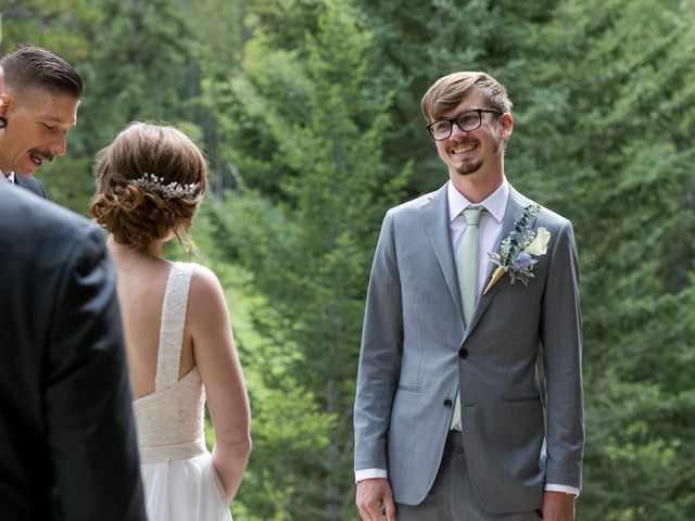 Brent and Emma's wedding in Canmore, Alberta 17