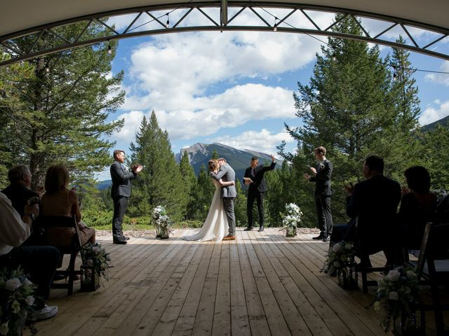 Brent and Emma's wedding in Canmore, Alberta 20