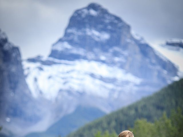 Brent and Emma's wedding in Canmore, Alberta 22