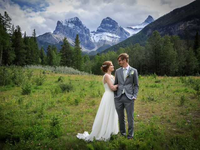 Brent and Emma's wedding in Canmore, Alberta 23