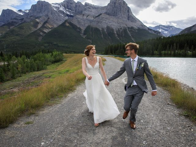 Brent and Emma's wedding in Canmore, Alberta 25