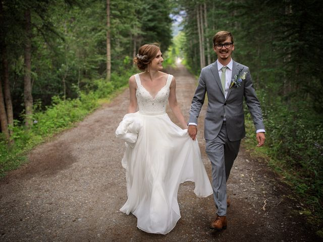 Brent and Emma's wedding in Canmore, Alberta 26