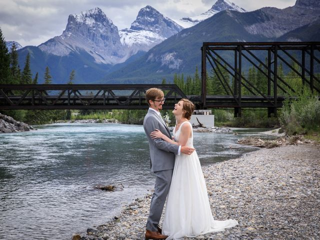 Brent and Emma's wedding in Canmore, Alberta 27