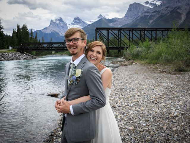 Brent and Emma's wedding in Canmore, Alberta 29