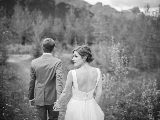 Brent and Emma's wedding in Canmore, Alberta 31