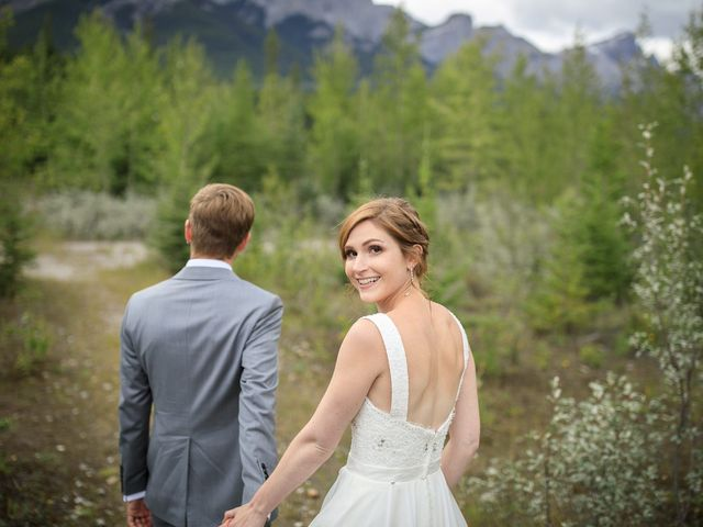 Brent and Emma's wedding in Canmore, Alberta 32