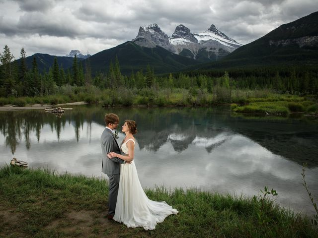 Brent and Emma's wedding in Canmore, Alberta 2