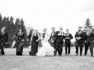 The wedding of Amanda and Tim