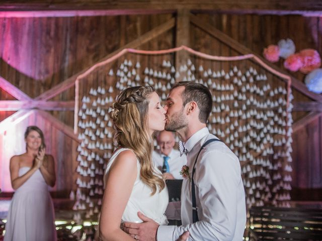 The wedding of Sophie and Adam