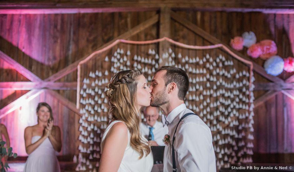 Adam and Sophie's wedding in Nicolet, Quebec