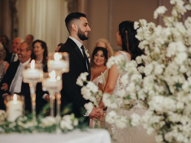 The wedding of Felicia and Libero