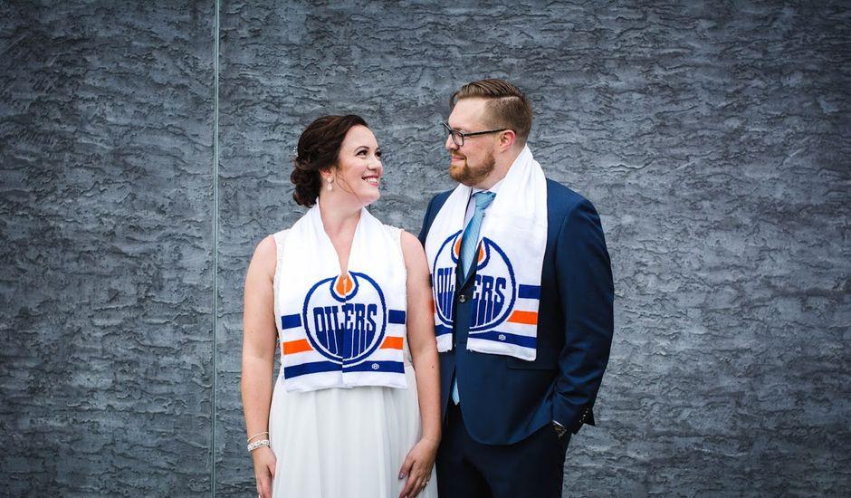 Joe and Brianne's wedding in Edmonton, Alberta