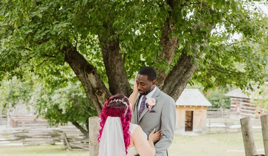 Corey  and Samantha 's wedding in Vaughan, Ontario