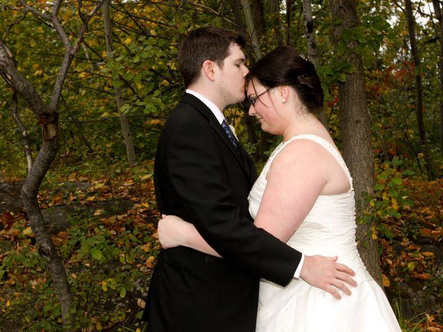 The wedding of Christina and Dan