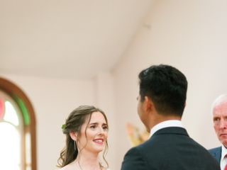 The wedding of Rachel and Kevin 1