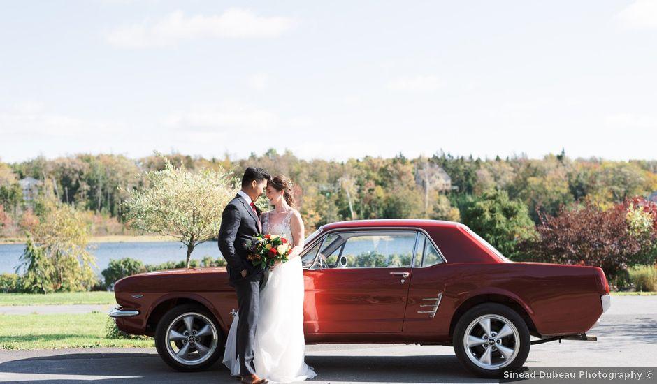 Kevin and Rachel's wedding in Halifax, Nova Scotia