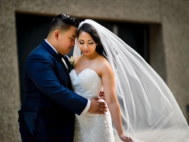 The wedding of Marvin and Krystal