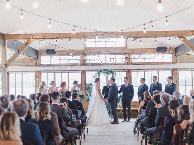 The wedding of Mitch and Taylor