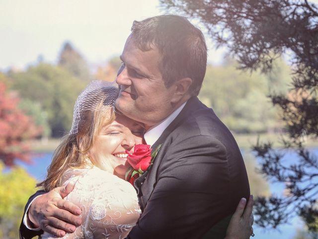 The wedding of Christina and Robb