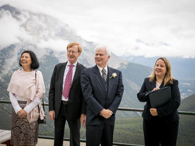 Lucia and Gordon's wedding in Banff, Alberta 12