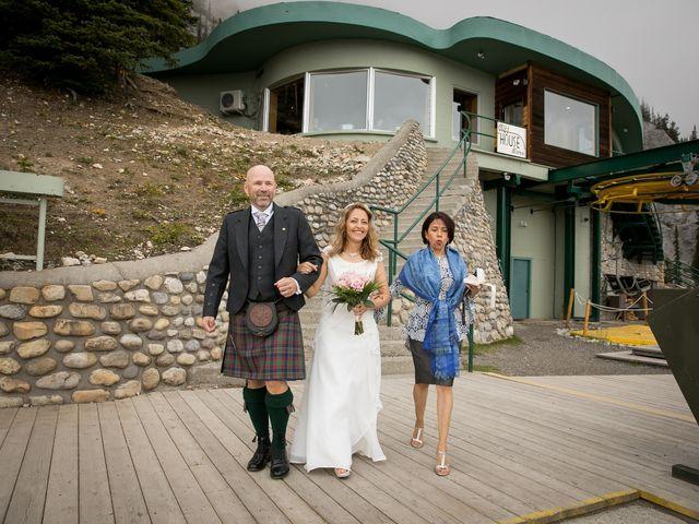 Lucia and Gordon's wedding in Banff, Alberta 13