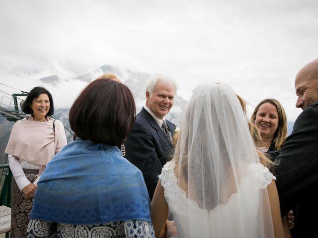Lucia and Gordon's wedding in Banff, Alberta 14
