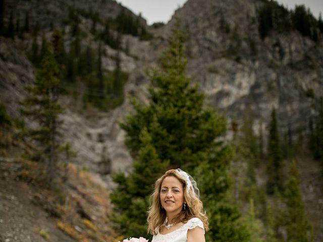 Lucia and Gordon's wedding in Banff, Alberta 24