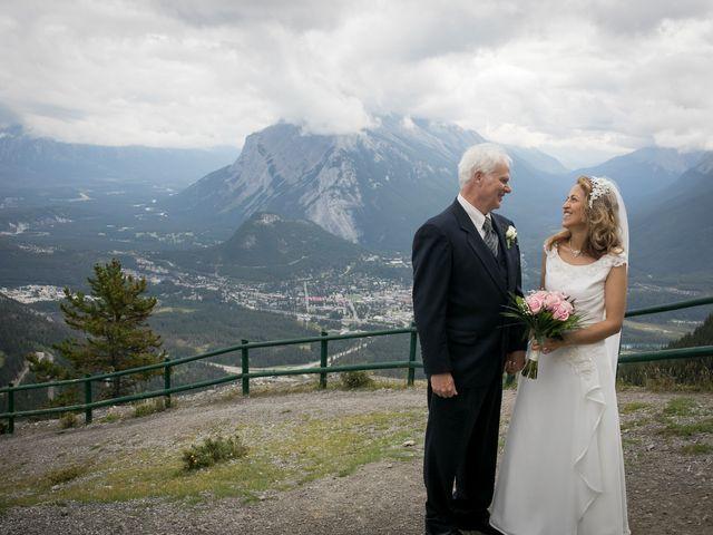 Lucia and Gordon's wedding in Banff, Alberta 25