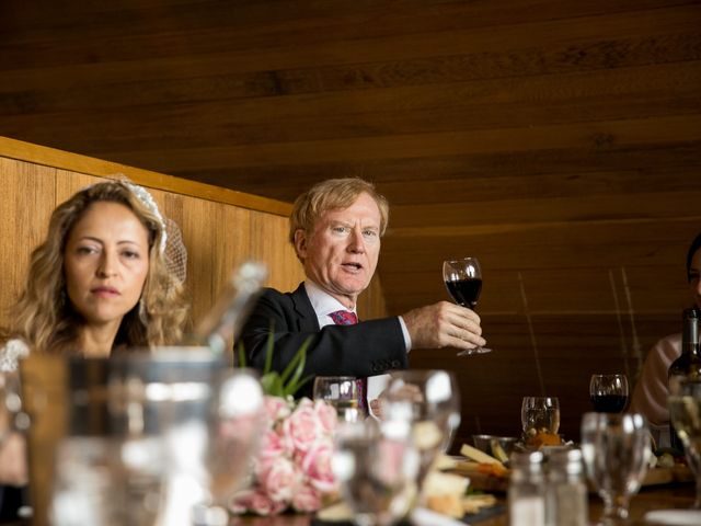 Lucia and Gordon's wedding in Banff, Alberta 33