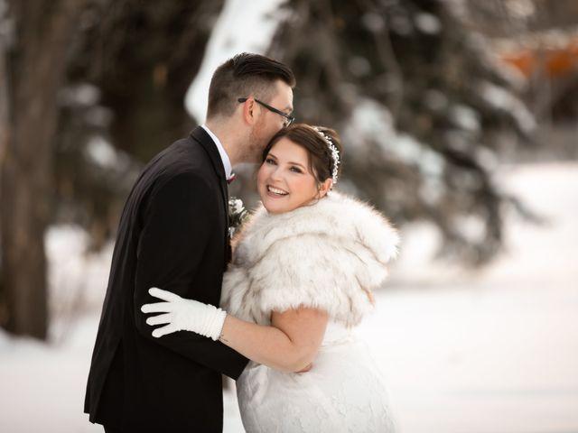 The wedding of Alannah and Ryan