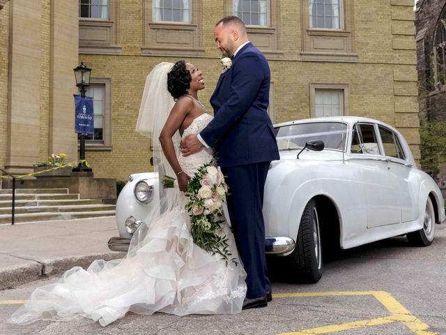 The wedding of Stephanie and Stephan