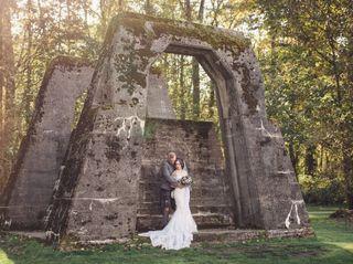 The wedding of Gallia and Benjamin