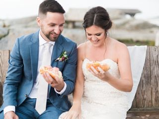 The wedding of Marc and Amanda