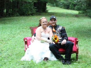 The wedding of Lisa and Nick