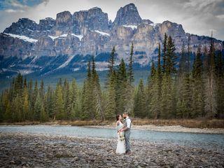 The wedding of Joel and Melanie