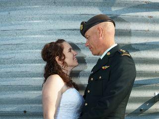The wedding of Korinne and Mathew