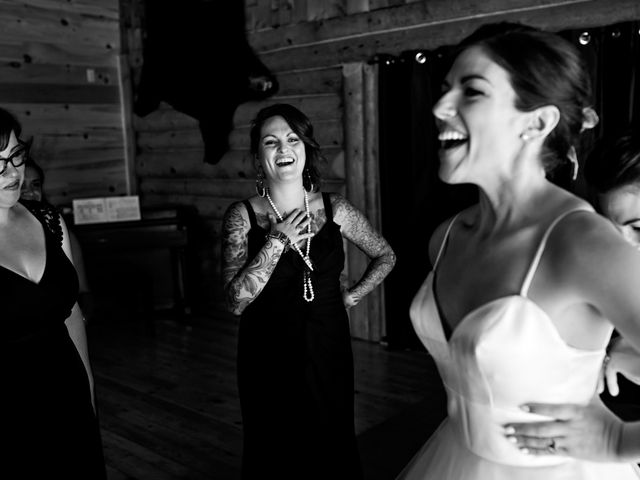 Krista and Rob's wedding in Kenora, Ontario 6