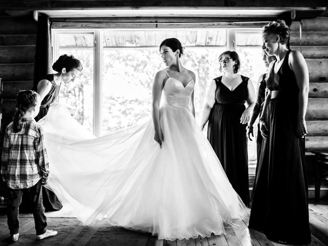 Krista and Rob's wedding in Kenora, Ontario 7