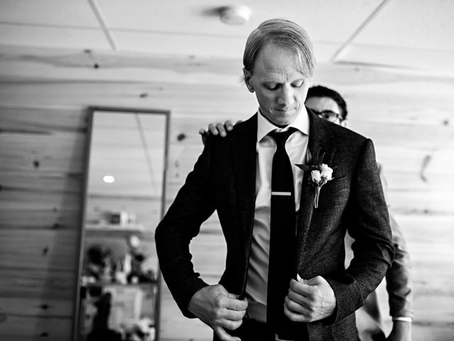 Krista and Rob's wedding in Kenora, Ontario 9
