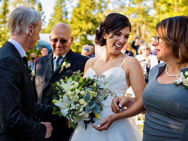 Krista and Rob's wedding in Kenora, Ontario 12