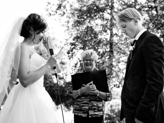 Krista and Rob's wedding in Kenora, Ontario 16