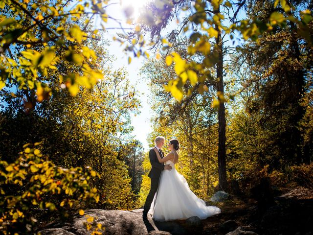 Krista and Rob's wedding in Kenora, Ontario 25