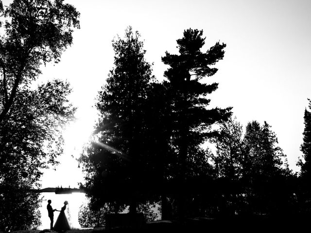 Krista and Rob's wedding in Kenora, Ontario 28