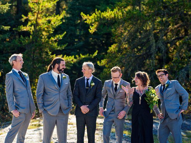 Krista and Rob's wedding in Kenora, Ontario 29