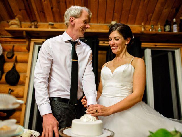Krista and Rob's wedding in Kenora, Ontario 42