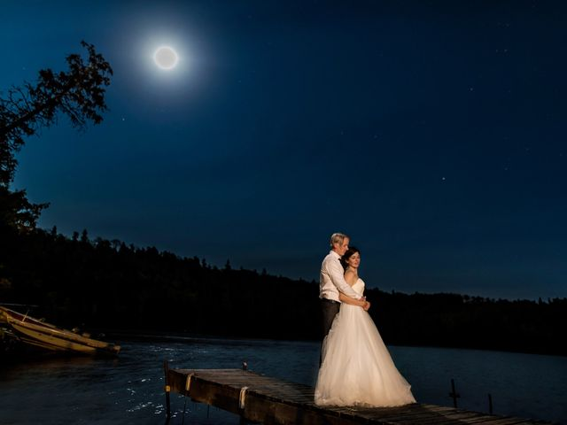 Krista and Rob's wedding in Kenora, Ontario 61