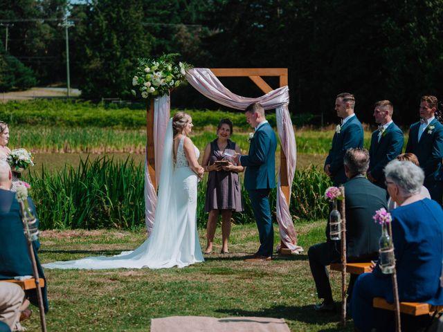 Blake and Justine's wedding in Malahat, British Columbia 6
