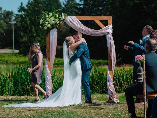 Blake and Justine's wedding in Malahat, British Columbia 9