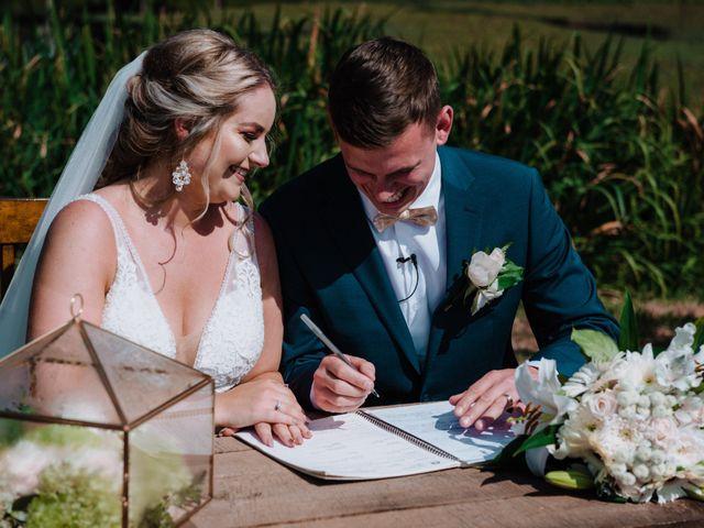 Blake and Justine's wedding in Malahat, British Columbia 1